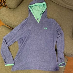 North Face light weight pullover jacket